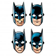 Batman Party Supplies - Party Masks Heroes Unite Paper