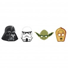 Star Wars Party Supplies - Party Masks Galaxy