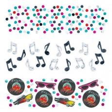 Rock n Roll Classic 50's Confetti