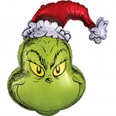 Christmas SuperShape How The Grinch Stole Shaped Balloon