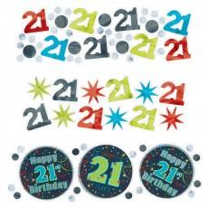 21st Birthday Brilliant Birthday Confetti