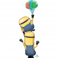 Minions Multi-Balloon XL  Stacker Shaped Balloon