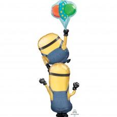 Multi-Balloon XL Minions Stacker Shaped Balloon 78cm x 190cm