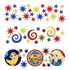 Super Hero Girls Party Decorations - Confetti