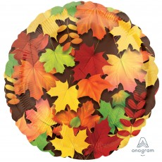 Misc Occasion Standard HX Colourful Leaves Foil Balloon