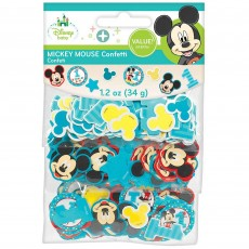 Mickey Mouse 1st Birthday Fun To Be One Confetti