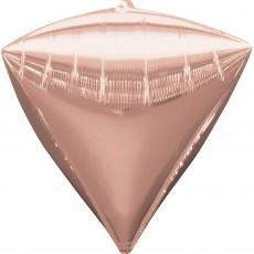 Pink Rose Gold UltraShape Shaped Balloon