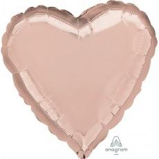 Pink Rose Gold Standard HX Decorator Shaped Balloon
