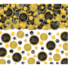 Happy Birthday Gold Value Pack Confetti