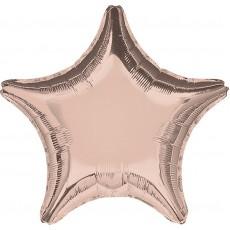 Pink Rose Gold  Shaped Balloon