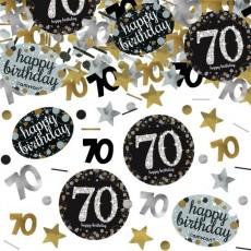 70th Birthday Sparkling Celebration Confetti 34g