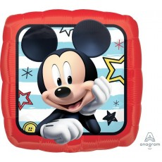 Square Mickey Mouse Roadster Racers Standard HX Foil Balloon 45cm