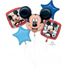 Mickey Mouse Roadster Racers Bouquet Foil Balloons Pack of 5
