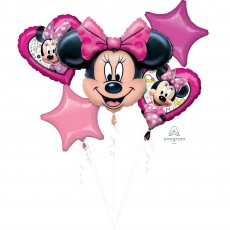 Minnie Mouse Happy Helpers Bouquet Foil Balloons