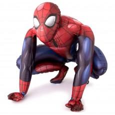 Spider-Man Animated Airwalker Foil Balloon 91cm x 91cm