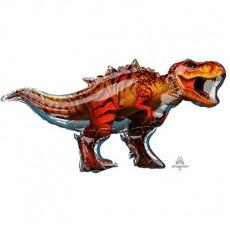 Jurassic World SuperShape T-Rex Dinosaur Shaped Balloon 114cm x 60cm
