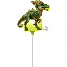 Jurassic World Mini Raptor Dinosaur Shaped Balloon
