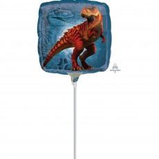 Square Jurassic World Foil Balloon 22cm