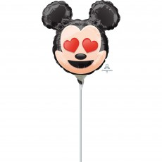 Mickey Mouse Emoji Mini Shaped Balloon