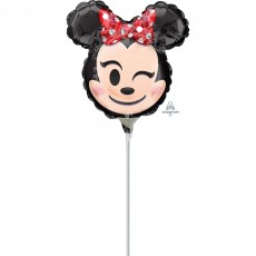 Minnie Mouse Emoji Mini Shaped Balloon