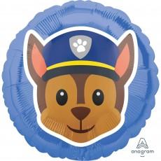 Paw Patrol Standard HX Chase Emoji Foil Balloon