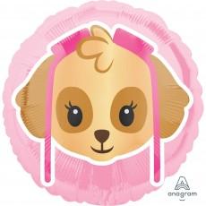 Paw Patrol Girl Standard HX Skye Emoji Foil Balloon