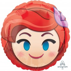 The Little Mermaid Standard HX Ariel Emoji Foil Balloon