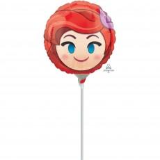 Disney Frozen Ariel Emoji Foil Balloon