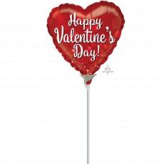 Valentine's Day Sparkle Shaped Balloon