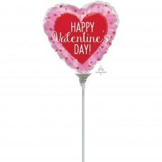 Valentine's Day Glitter Shaped Balloon