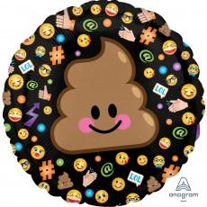 Emoji Standard HX LOL Emoticon Foil Balloon