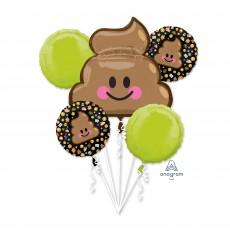Emoji Bouquet LOL Emoticon Foil Balloons