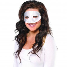 White Standard Mask Head Accessorie