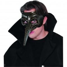 Mardi Gras Party Supplies - Venetian Raven Mask