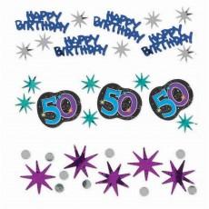 50th Birthday Party Continues Confetti