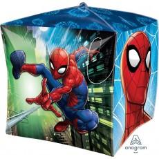Cubez Spider-Man UltraShape Shaped Balloon 38cm x 38cm