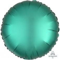 Green Satin Luxe Jade Standard HX Foil Balloon