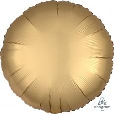 Gold Sateen Standard HX Satin Luxe Shaped Balloon