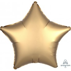 Gold Sateen Standard XL Satin Luxe Shaped Balloon