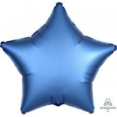 Blue Satin Luxe Azure Standard XL Shaped Balloon