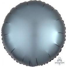 Blue Satin Luxe Steel Standard HX Foil Balloon