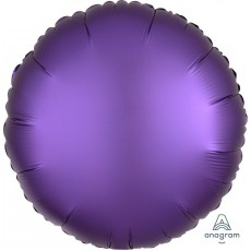 Purple Royale Satin Luxe Foil Balloon