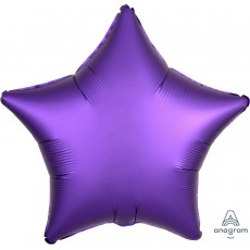 Purple Satin Luxe Royale Standard XL Shaped Balloon