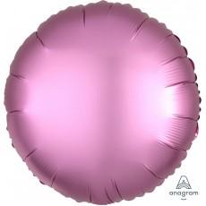 Pink Satin Luxe Flamingo Standard HX Foil Balloon