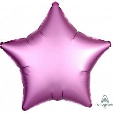 Pink Satin Luxe Flamingo Standard XL Shaped Balloon