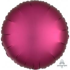 Pink Satin Luxe Pomegranate Standard HX Foil Balloon