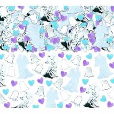 Wedding Bride & Groom Foil Confetti