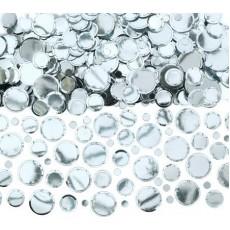 Dots Silver  Confetti
