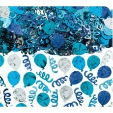 Blue Balloon Confetti