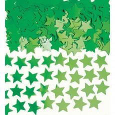 Green Mini Stars Confetti 7g Single Pack